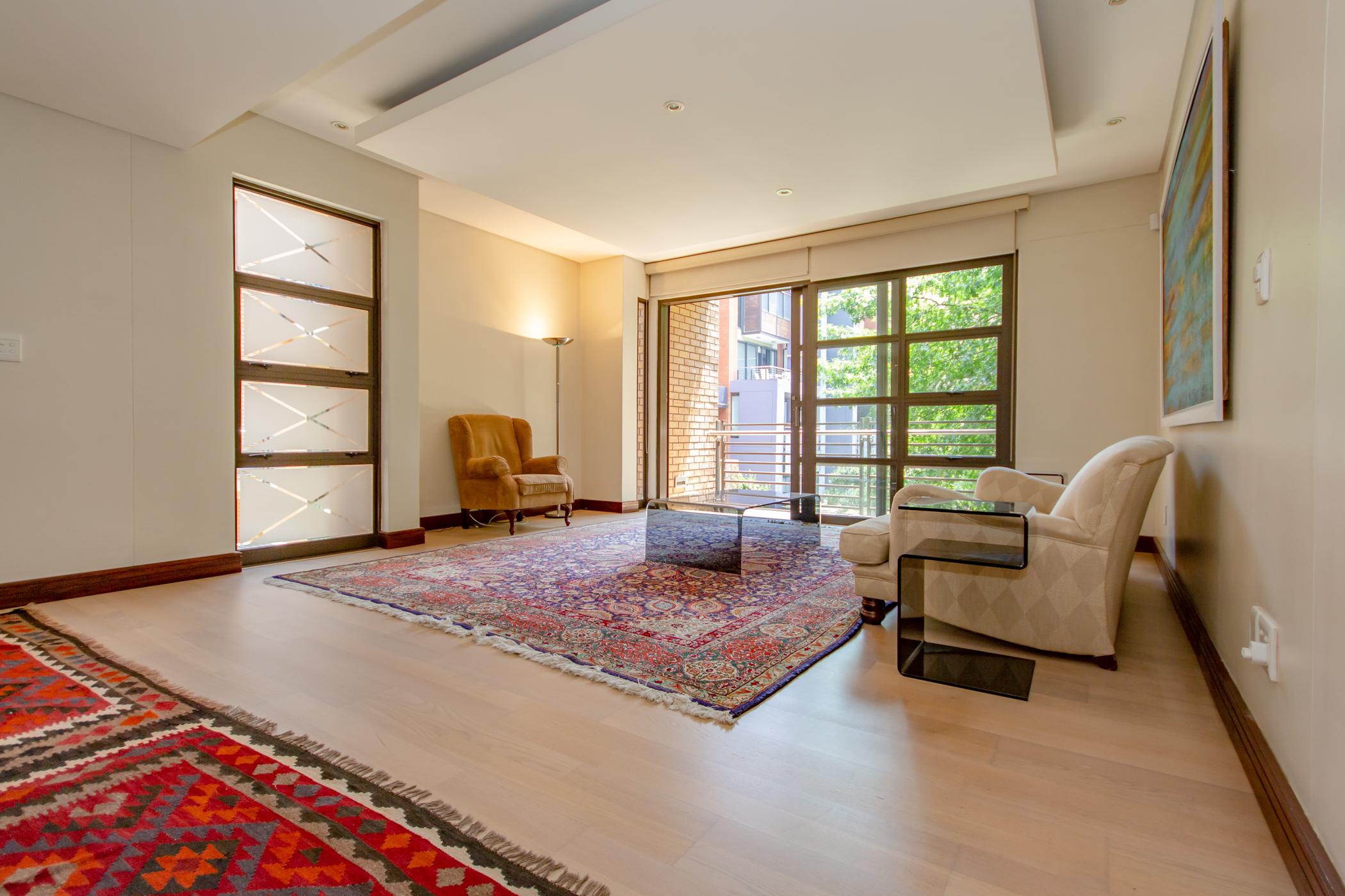 """Melrose arch luxury apartment livingroom"" ""Flats for rent in Johannesburg"""